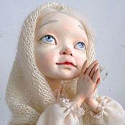 """Куклы и игрушки ручной работы. Ярмарка Мастеров - ручная работа авторская кукла """"Первый снег"""". Handmade."""