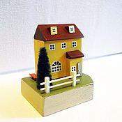 """Сувениры и подарки ручной работы. Ярмарка Мастеров - ручная работа миниатюра """"Свой дом"""". Handmade."""