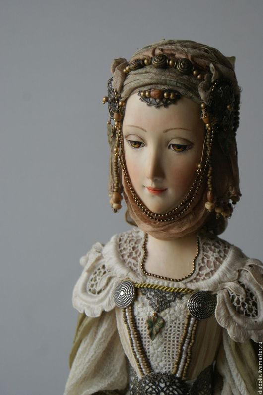 Коллекционные куклы ручной работы. Ярмарка Мастеров - ручная работа. Купить Ева. Handmade. Авторская кукла, Паперклей