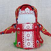 Куклы и игрушки ручной работы. Ярмарка Мастеров - ручная работа Крупеничка - Зерновушка. Handmade.