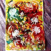Картины и панно handmade. Livemaster - original item Positive abstraction.. Handmade.