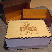 Сувениры и подарки handmade. Livemaster - original item Gift box product logo. Handmade.