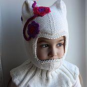 Работы для детей, ручной работы. Ярмарка Мастеров - ручная работа Шапочка-шлем (2 слоя). Handmade.
