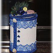 Сувениры и подарки ручной работы. Ярмарка Мастеров - ручная работа копилка для монет Морская жемчужина. Handmade.