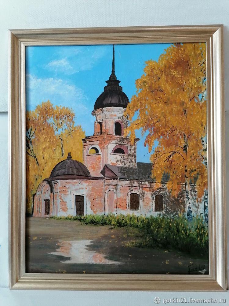 забытый храм, Картины, Железнодорожный,  Фото №1