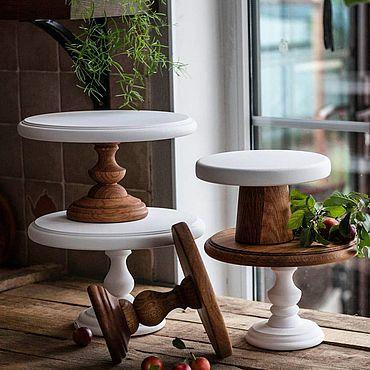 Для дома и интерьера ручной работы. Ярмарка Мастеров - ручная работа Разборная тортовница. Handmade.