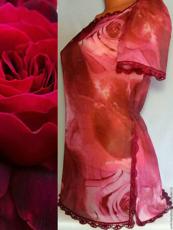 Tunic 'Rose', Blouses, Ufa,  Фото №1