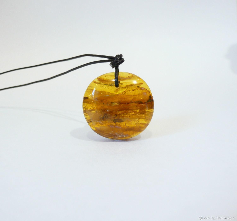 Baltic amber pendant 'Through the thorns' K-724, Pendant, Svetlogorsk,  Фото №1
