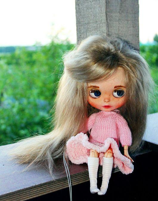 Коллекционные куклы ручной работы. Ярмарка Мастеров - ручная работа. Купить Кастом блайз ТБЛ Амалия. Handmade. Комбинированный, oak