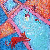 """Картины и панно ручной работы. Ярмарка Мастеров - ручная работа Картина маслом """"У истоков"""". Handmade."""
