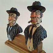 Сувениры и подарки handmade. Livemaster - original item Chicago 30-ies gangs. Handmade.