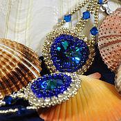 Украшения handmade. Livemaster - original item Bead earrings