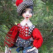 Куклы и игрушки ручной работы. Ярмарка Мастеров - ручная работа Подвижная будуарная куколка Загадка.... Handmade.