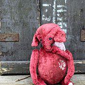 Куклы и игрушки ручной работы. Ярмарка Мастеров - ручная работа Слон тедди Бантик. Handmade.