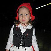 Работы для детей, ручной работы. Ярмарка Мастеров - ручная работа Костюм Красной Шапочки. Handmade.