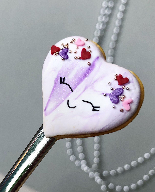 Вкусная ложка Сердце из полимерной глины подарок на 14 февраля, Ложки, Москва,  Фото №1