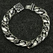 Украшения handmade. Livemaster - original item Bracelet with crosses made of silver 925. Handmade.