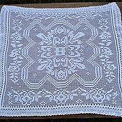 Винтаж handmade. Livemaster - original item Doily vintage crochet. Handmade.