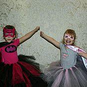 Работы для детей, ручной работы. Ярмарка Мастеров - ручная работа Костюм супергероя «Batgirl». Handmade.