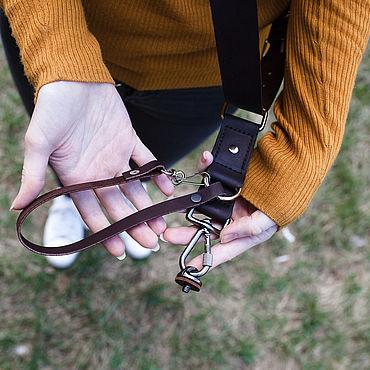 Accessories handmade. Livemaster - original item Belt-unloading for one camera for the photographer. Handmade.
