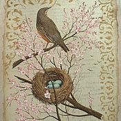 """Картины и панно ручной работы. Ярмарка Мастеров - ручная работа Панно """"Весна"""". Handmade."""