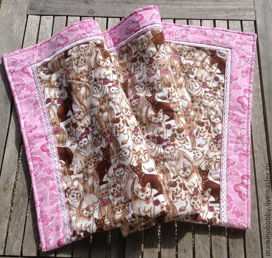 Детская ручной работы. Ярмарка Мастеров - ручная работа. Купить Одеяло для новорожденного байковое двустороннее. Handmade. Одеяло, подарок, одеялко