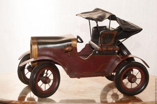 Винтажные предметы интерьера. Ярмарка Мастеров - ручная работа. Купить Автомобиль ретро Kabriolett nostalgisch раритет прошлого века рулевая. Handmade.