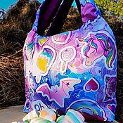 Сумки и аксессуары handmade. Livemaster - original item bag two way: One unicorn`s. Handmade.