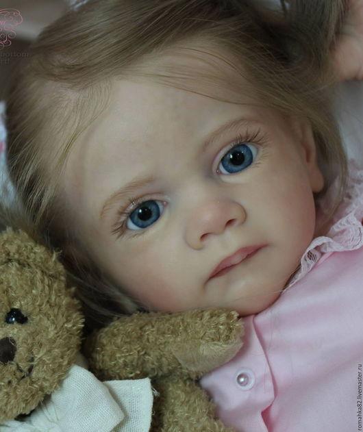 Куклы-младенцы и reborn ручной работы. Ярмарка Мастеров - ручная работа. Купить Прототип ,,Frida,, Фрида. Handmade. Бледно-розовый