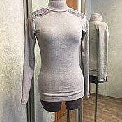 Одежда ручной работы. Ярмарка Мастеров - ручная работа Бадлон с кружевом. Handmade.