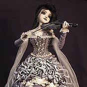 """Куклы и игрушки ручной работы. Ярмарка Мастеров - ручная работа """"Лунная соната для скрипки"""". Handmade."""