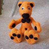 Куклы и игрушки ручной работы. Ярмарка Мастеров - ручная работа Мишка -валяная игрушка. Handmade.