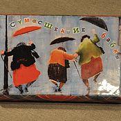 """Для дома и интерьера ручной работы. Ярмарка Мастеров - ручная работа Купюрница  """"Бешеные бабки"""". Handmade."""