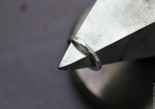 Кольца ручной работы. Ярмарка Мастеров - ручная работа. Купить Кольцо с гранями. Handmade. Серебряный, кольцо ручной работы, серебро