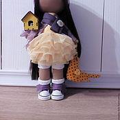 Куклы и игрушки ручной работы. Ярмарка Мастеров - ручная работа Интерьерная текстильная кукла большеножка Дашенька. Handmade.