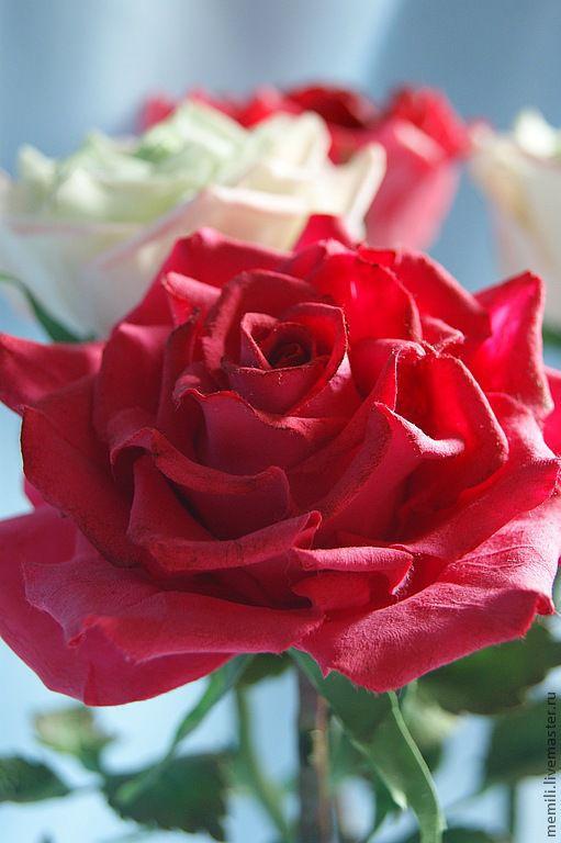 Букеты ручной работы. Ярмарка Мастеров - ручная работа. Купить Букет роз. Handmade. Розы, подарок женщине, букет роз