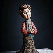 Будуарная кукла ручной работы. Ярмарка Мастеров - ручная работа Авторская кукла Ангел. Handmade.