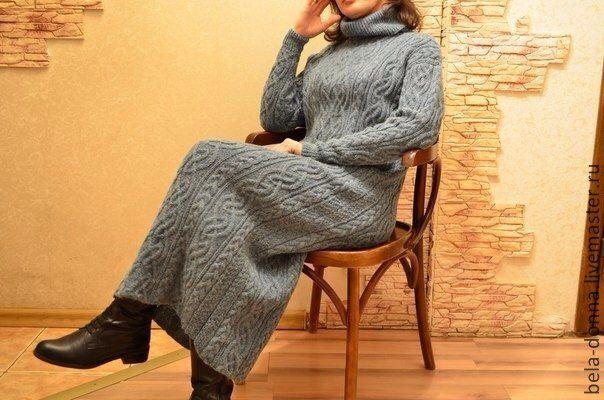 Кельтский узор на платье