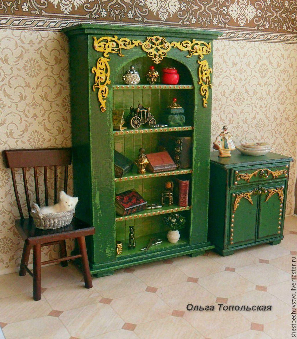 Мебель для миниатюры своими руками 812