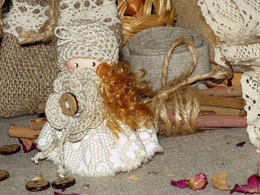 Броши ручной работы. Ярмарка Мастеров - ручная работа. Купить Рассвет как кружева... Брошка куколка текстильное украшение. Handmade. Брошь