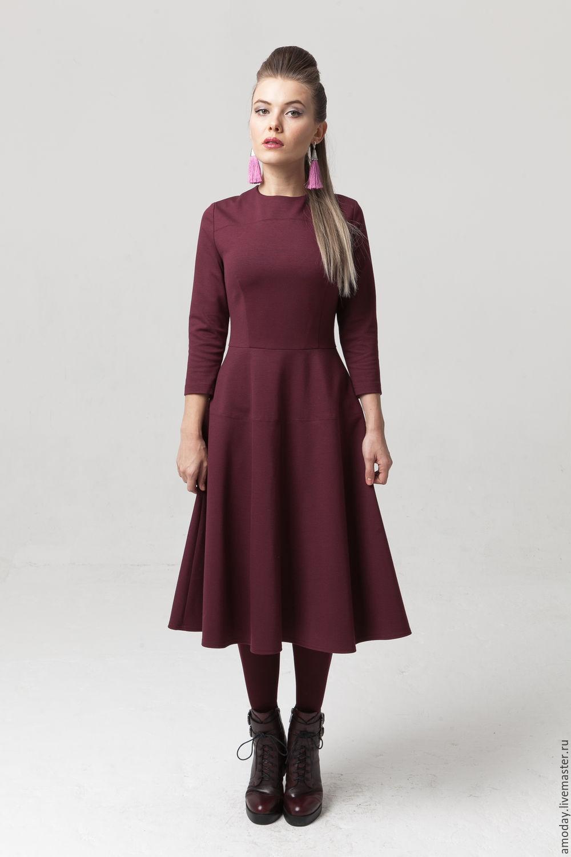 платья из джерси