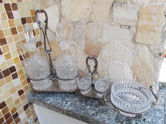 Винтажная посуда. Ярмарка Мастеров - ручная работа. Купить Набор для масла и уксуса, приправ  винтаж, Италия. Handmade. Комбинированный, посуда