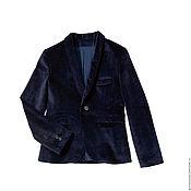 """Одежда ручной работы. Ярмарка Мастеров - ручная работа Пиджак и брюки """"Бархатный"""" для мальчика. Handmade."""