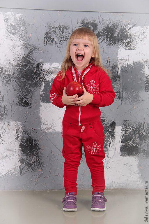 Одежда для девочек, ручной работы. Ярмарка Мастеров - ручная работа. Купить Костюм спортивный Glamour Sport  от Delaviya. Handmade.