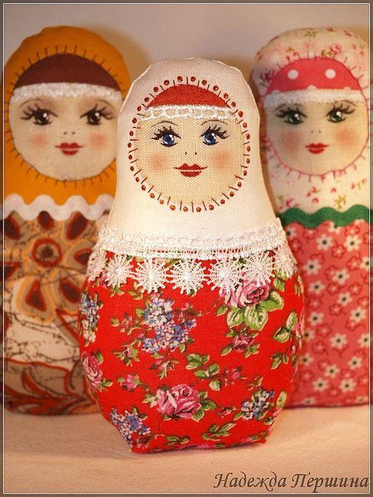 Народные куклы ручной работы. Ярмарка Мастеров - ручная работа. Купить Матрёшка. Handmade. Матрешка, кукла, лён