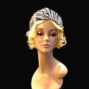 Украшения handmade. Livemaster - original item Mini headdress. Handmade.