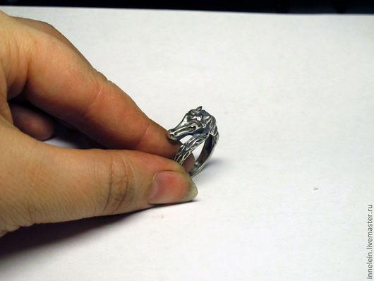 """Кольца ручной работы. Ярмарка Мастеров - ручная работа. Купить Серебряное кольцо """"Лошадка"""". Handmade. Серебряный, лошадка, horse, животное"""