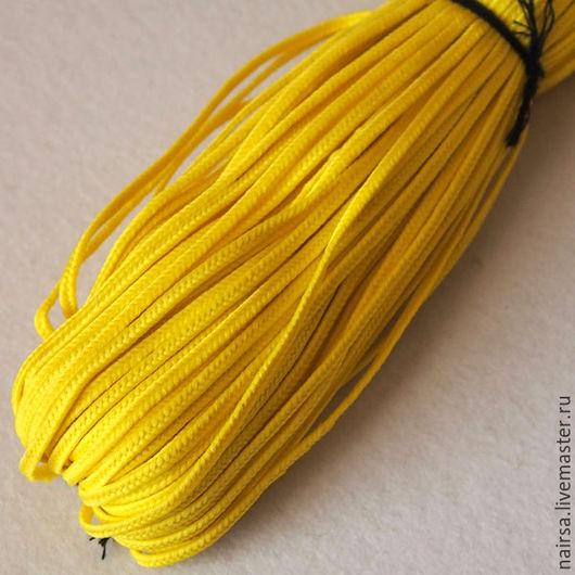 Турецкий сутаж. Цвет лимонно желтый