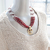 """Украшения ручной работы. Ярмарка Мастеров - ручная работа ожерелье """"предпочитаю Тельца"""", украшение из бисера. Handmade."""