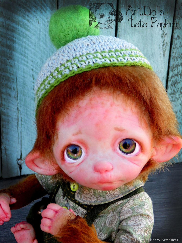 Tosha The Monkey. for Andrea, Stuffed Toys, Aksay,  Фото №1